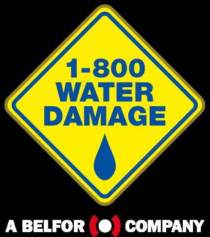 1-800 WATER DAMAGE - Logo Footer