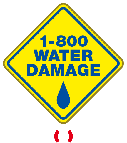 1-800 WATER DAMAGE - Logo Footer