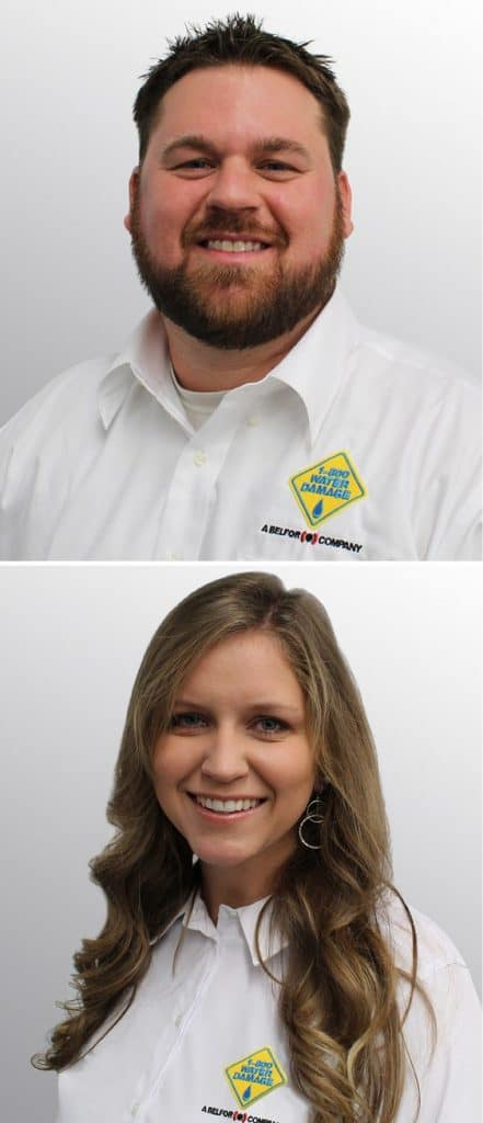 Rob and Elizabeth Kennedy owners of 1-800 WATER DAMAGE of Lake County and The Villages