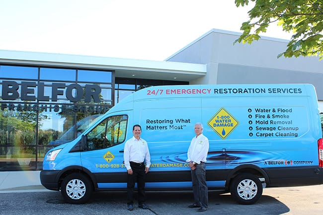 Welcome-Scott-Weiner-and-Carl-Grossman owners of 1-800 WATER DAMAGE of Fairfield County